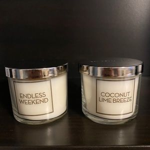 Bath & Body Works Endless Weekend & Coconut Lime